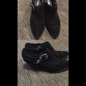 Reba ankle booties